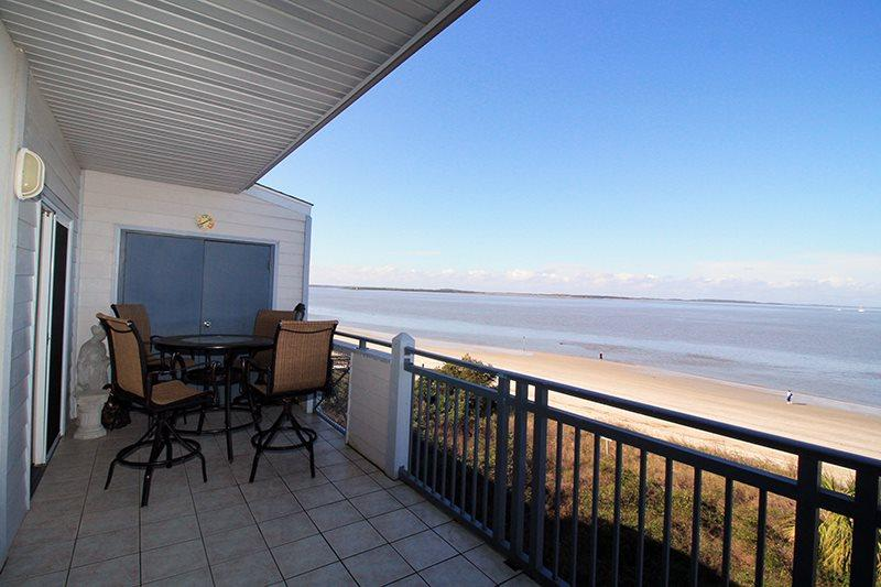 Savannah Beach & Racquet Club Condos - Unit C306 - Water Front - Swimming Pool - Image 1 - Tybee Island - rentals