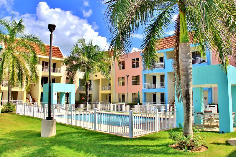 Welcome to Vistamar!  Pool Area & Apartments - Ocean Front Condo in Aguadilla North West P.R. - Aguadilla - rentals