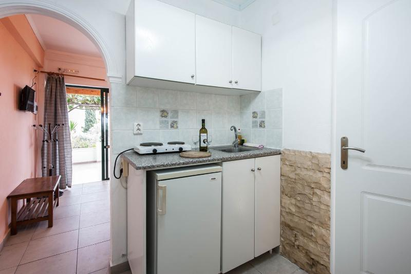 Kitchen - Andromaches Holiday Apartment Sea view apartmen 4P - Corfu Town - rentals