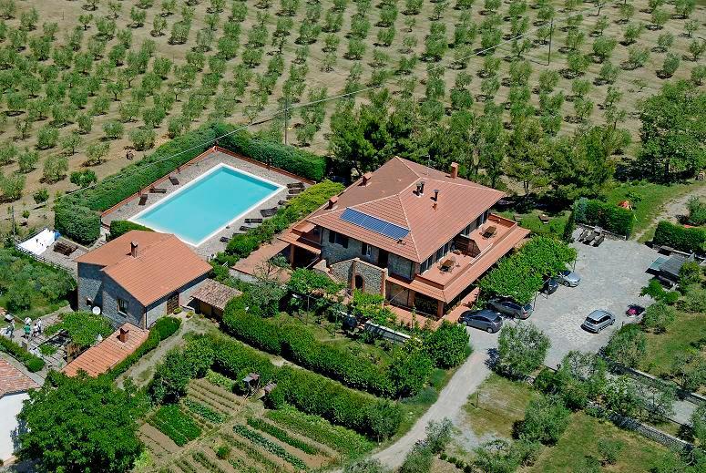 Casa Rondini, organic farm - Casa Rondini,organic farm - Montegabbione - rentals