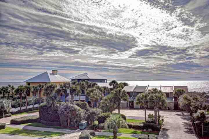 View From Seabreeze Cottage #45 - Seabreeze Cottage #45 - Gulf Views - Community Pool - Seacrest Beach - Seacrest Beach - rentals