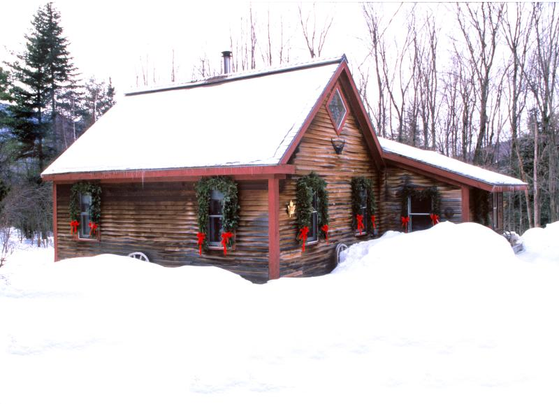 Goldilocks: Romantic Vermont Cabin Rental - Romantic Cabin:1 Bdrm + Loft, Woodstove, Sleeps 5 - Stowe - rentals