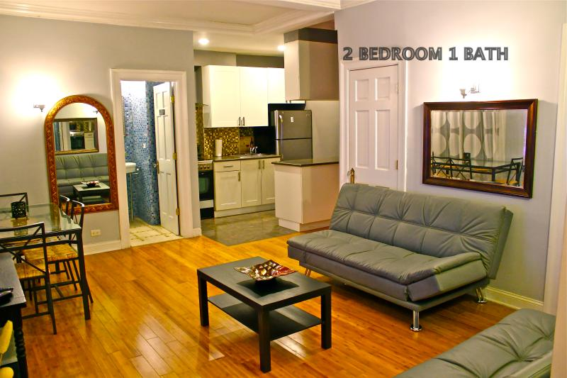 Living area - Serenity In Midtown 2 bedroom 1 bath - New York City - rentals