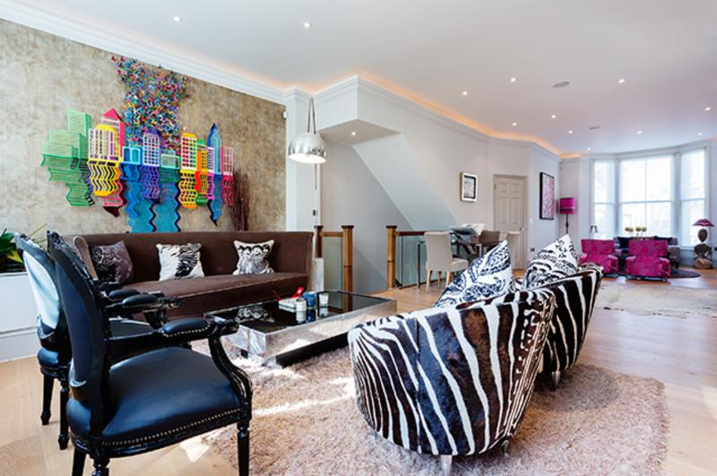 Interior designed 4 bed house, Moore Park Road, Fulham - Image 1 - London - rentals