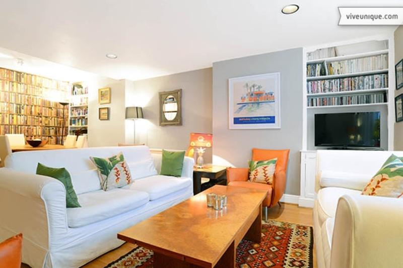2 bed garden apartment, Archel Road, Fulham - Image 1 - London - rentals