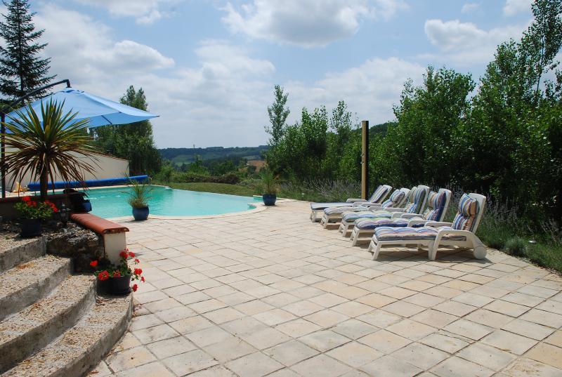 Infinity pool - Cruzel - Touffailles - rentals