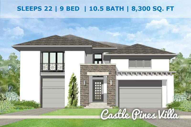 Castle Pines Villa | Brand New Luxury Villa with Hidden Star Wars Themed Playroom, Games Room, Theater Room, Pool, Spa & Summer Kitchen - Image 1 - Kissimmee - rentals