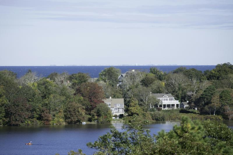 Lake and Ocean views from most rooms - Lake front with Spectacular Ocean Views. - Dennis - rentals