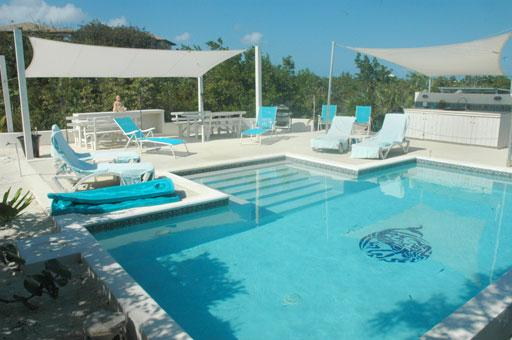 Casita Sirena's Private Pool and Deck Area - 4BR Hideaway with Pool Oasis near Secluded Beach - Providenciales - rentals