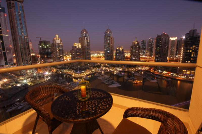 Iris Blue - Image 1 - Dubai Marina - rentals