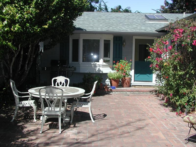 Front Patio - Heart of Golden Rectangle - Carmel-by-the-Sea - rentals