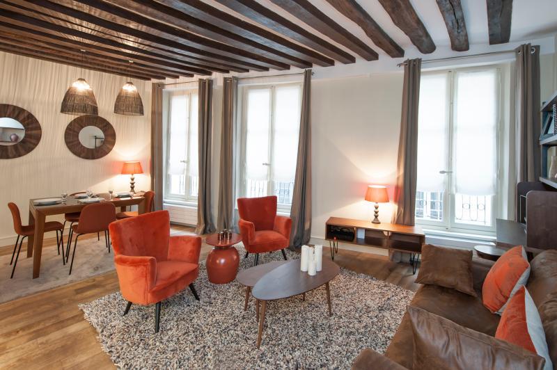 Living room - 1BD/1BTH in St-Germain des Près near rue de Buci 6th arrondissement - Paris - rentals