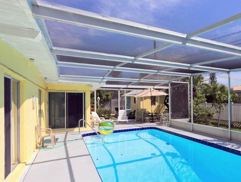 Villas Mansion, 4 Bedrooms, Office, Private Heated Pool, WiFi, Sleeps 14 - Image 1 - Fort Myers Beach - rentals