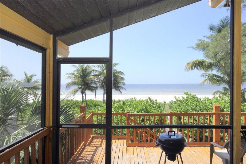 Turner Classic Cottage 1, 1 Bedroom, Gulf front, WiFi, Sleeps 4 - Image 1 - Fort Myers Beach - rentals