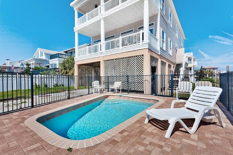 Pirate's Paradise, 5 Bedrooms, Beach Front, Small Private Pool, Sleeps 12 - Image 1 - Saint Augustine - rentals