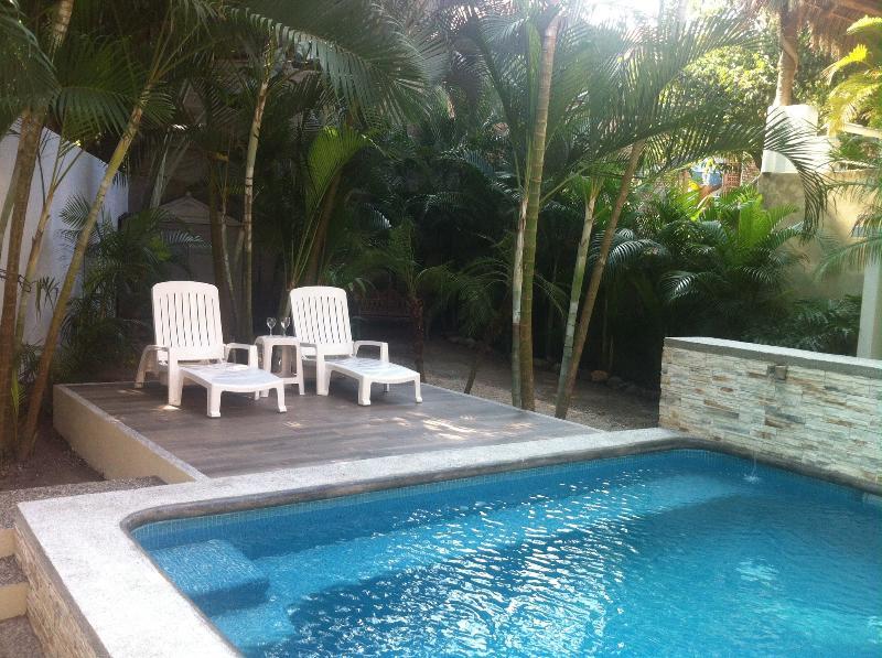 New Pool - Casa Esmarelda 4 BR house two blocks from the beac - San Pancho - rentals