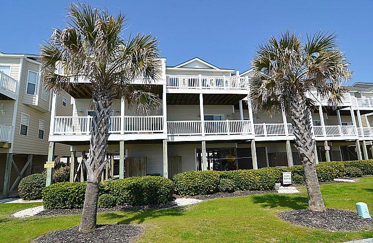 Exterior - Sea Star 308 - SAVE UP TO $110!! Remarkable Ocean View, Coastal Decor. - Surf City - rentals