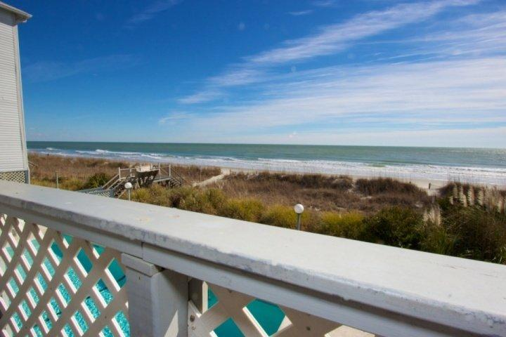 This is the view you and your family will enjoy, this isn't a model unit. - South Shores II 106 - Surfside Beach - rentals