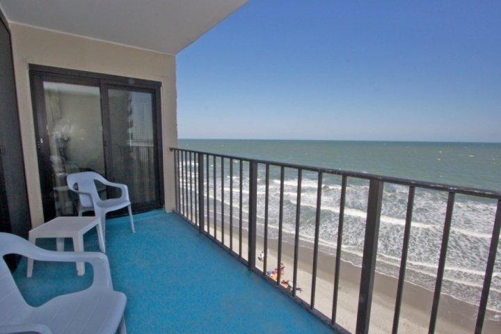 Here's the view for you, perfect fifth floor level, not too high, not too low. - Horizon East 502 - Garden City - rentals