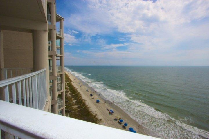 Here's the view you and your family will enjoy, spot the dolphins, watch the pelicans soar. - Live Large at One Ocean Place 1106 - Garden City - rentals