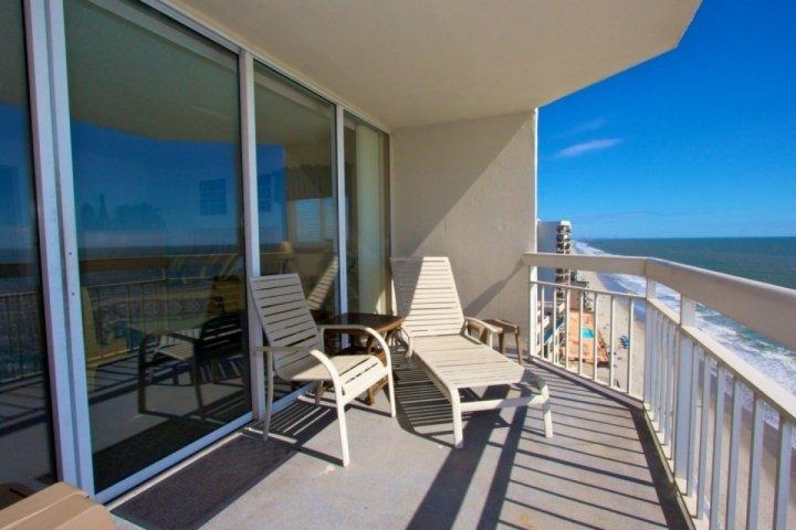 Your morning coffee and evening refreshments will be a special treat here - Waters Edge 3 Bedroom with Penthouse View - Surfside Beach - rentals