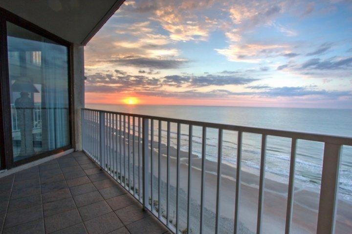 Here's the way to start your day, enjoy your morning coffee with the sunrise here. - One Ocean Place 1002 - Murrells Inlet - rentals