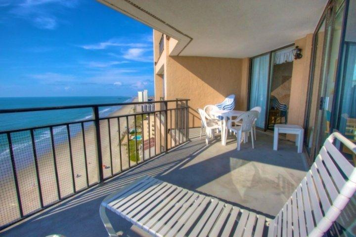 This is the view you and your family will enjoy, this isn't a model unit. - Surfmaster 1108 - Garden City - rentals