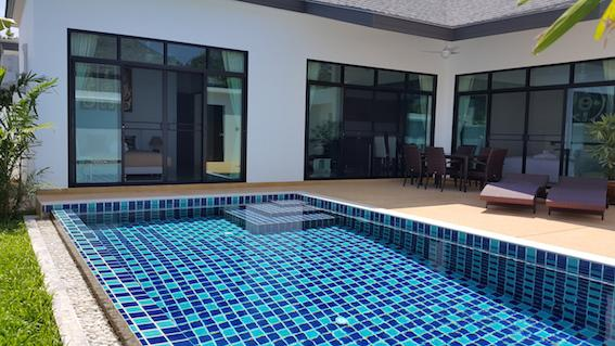 Private pool- Patio - 3 BEDROOM PRIVATE POOL VILLA - GREAT LOCATION! - Rawai - rentals