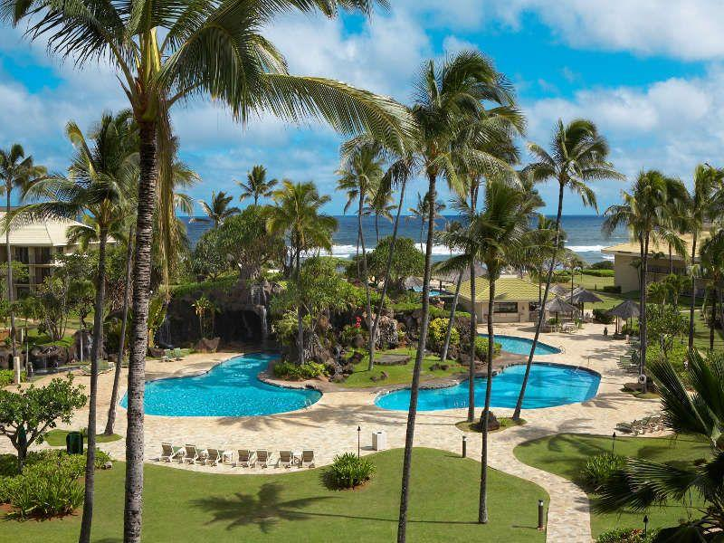 Gorgeous resort view. - Ocean Front,1st Fl,No Booking/WiFi Fee,2 beds - Lihue - rentals