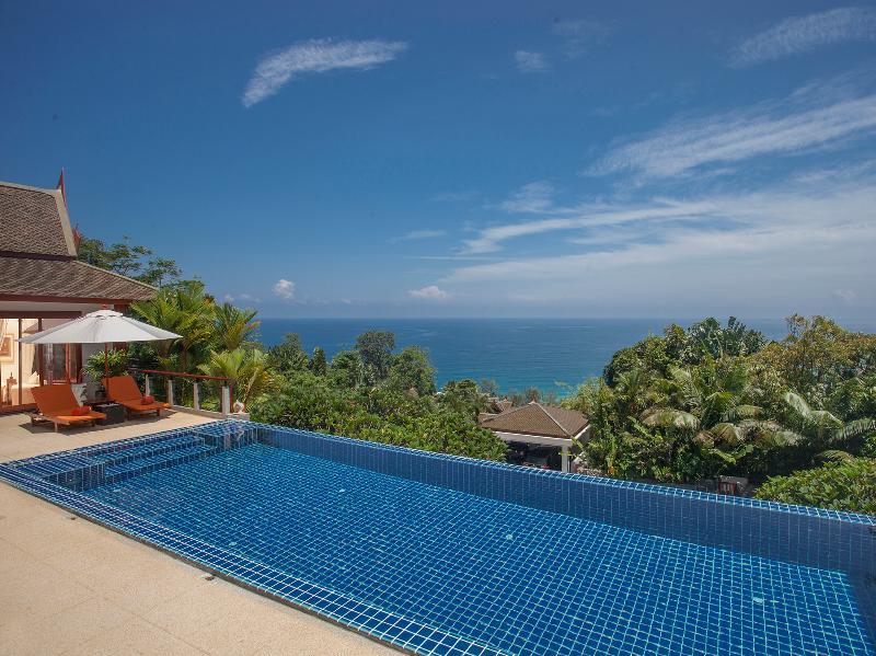 Baan Bon Khao - The pool and view - Baan Bon Khao - an elite haven - Surin Beach - rentals