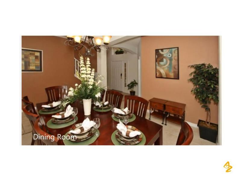 Dining Room - 20% OFF, 8BR PRIVATE POOL/SPA MINUTES TO DISNEY - Four Corners - rentals