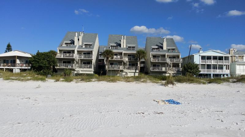 View from the beach and ocean - Spectacular Luxury Beachfront Condo PELICANS POINT- - Indian Shores - rentals