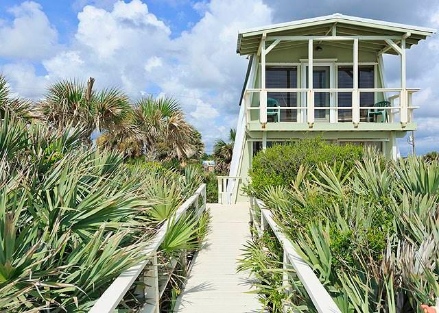 Oasis Beach House, 2 Bedrooms, Beach Front, HDTV, WiFi, Sleeps 6 - Image 1 - Flagler Beach - rentals
