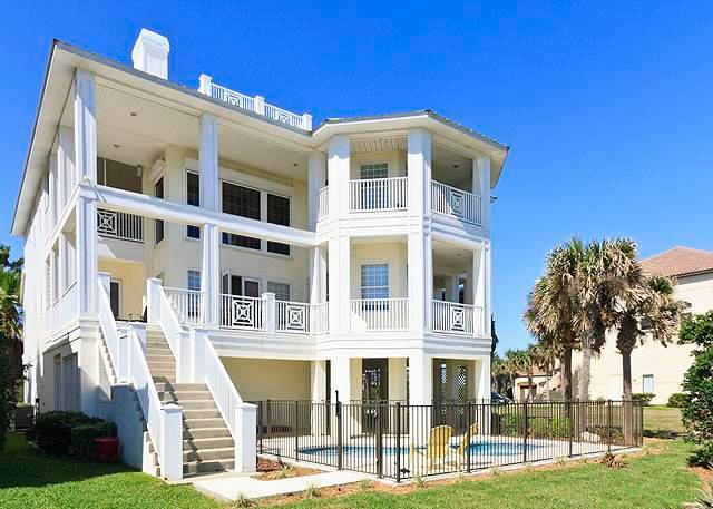 Casa La Duna, 6 Bedrooms, Beach Front, Elevator, Private Pool, Sleeps 14 - Image 1 - Palm Coast - rentals