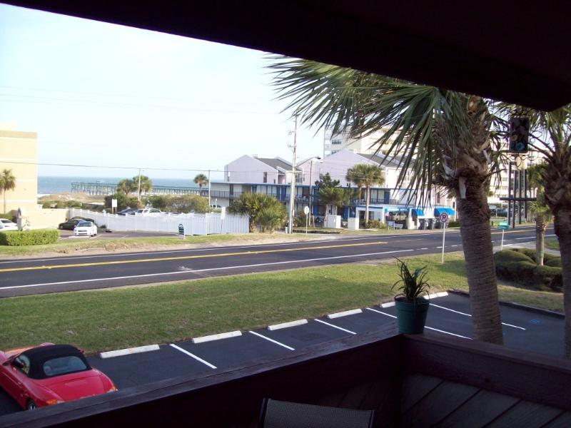 Ocean View from upper deck of Townhome # 7 - The Best Rental Deal on Amelia Island - Amelia Island - rentals