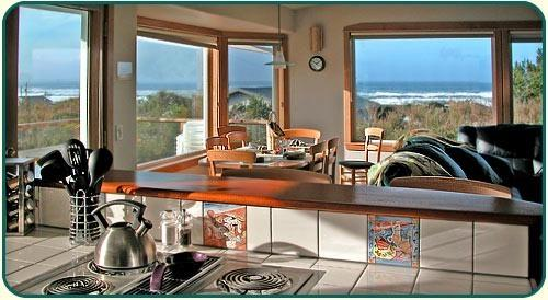 "View the Ocean as you brew the morning coffee ~ - UNBELIEVABLE! HTub-Sea Vu-CompWine-50""TV-Wd Fpl - Waldport - rentals"