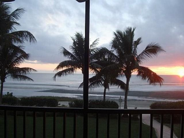 View from our Lanai - Absolutely Perfect.  Watch the dolphins swim by! - Luxury Beachfront Condo-Dream Home-2 wk min stay! - Fort Myers Beach - rentals