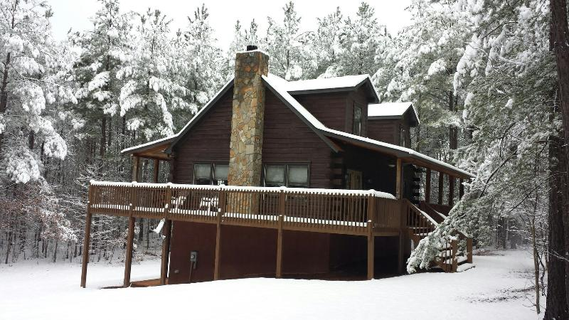 snow days! - MountainRetreat! 3 story log cabin-FreeNite w/ 3 - Lake Lure - rentals
