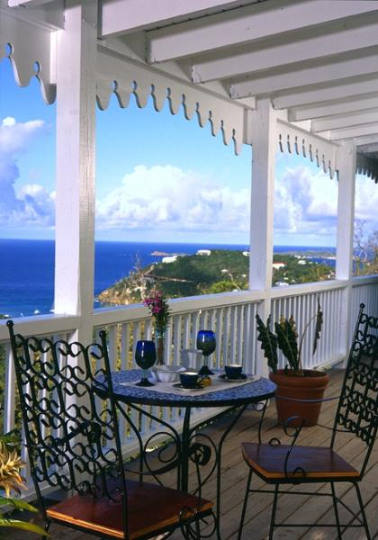 Affordable amazing ocean views at Villa Catalina - Image 1 - Cruz Bay - rentals