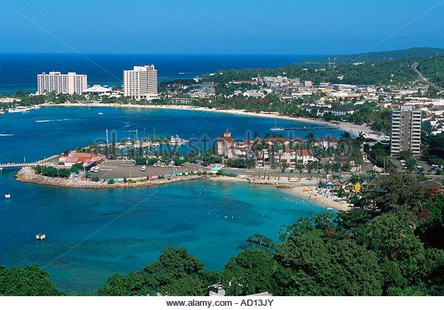 beach view - Ocho Rios Beach-front resort condo- 7th night free - Ocho Rios - rentals