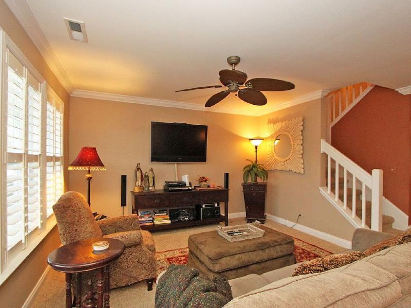 large flat screen TV - 6 BR/5BA Carolina Elegance Beach House IOP - Charleston - rentals