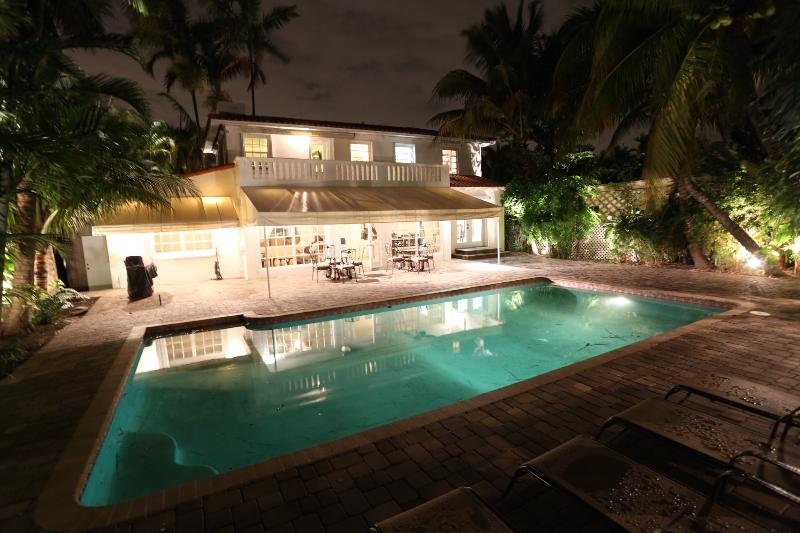 Waterfront  Modern Home with a Large Pool! - Image 1 - Miami Beach - rentals