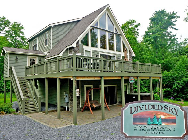 Welcome to Divided Sky - Your Deep Creek Lake Destination! - Divided Sky-Pet Friendly! - Oakland - rentals