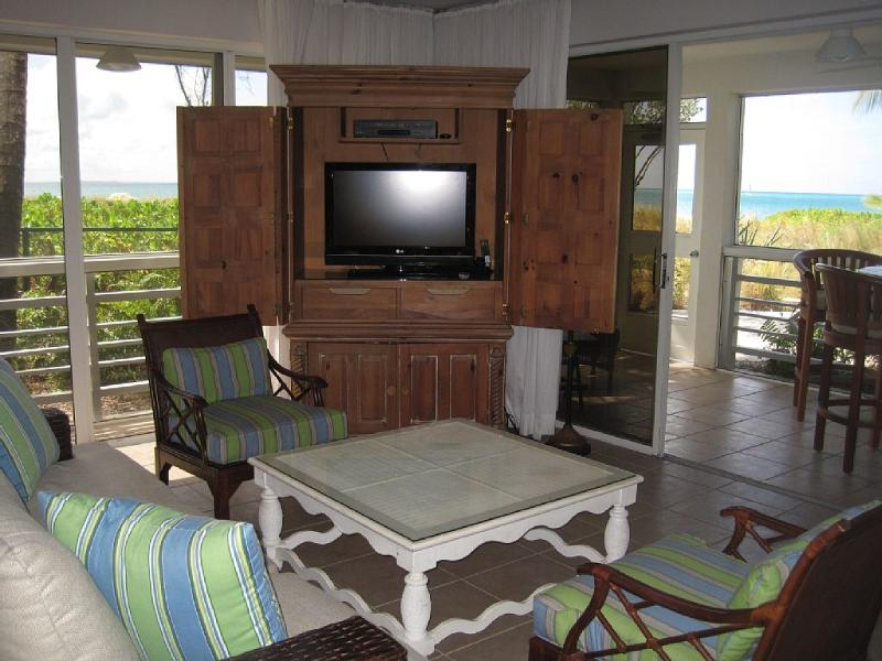 Suite 211 living room - Grace Bay BEACHFRONT at Ocean Club West - Grace Bay - rentals