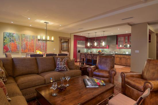 Spacious living room - Slopeside!  One Steamboat Place - Hahns Peak - Steamboat Springs - rentals