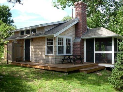 Updated photo needed!! No screen porch, that is a bedroom now. - Newly Renovated Cottage at Fort Hill in Eastham - Eastham - rentals