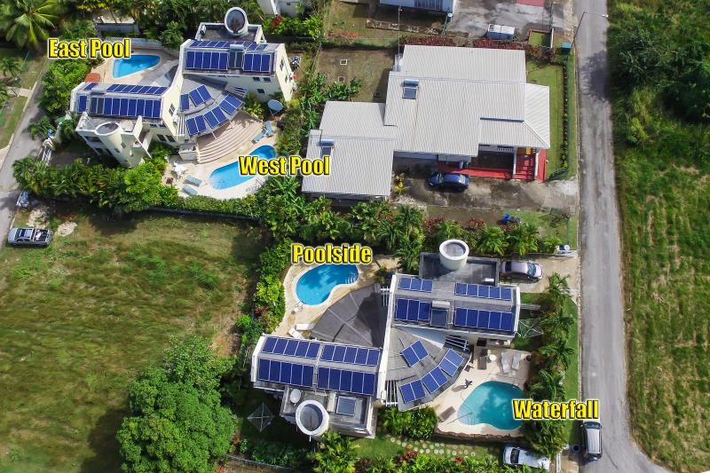 Choose one of our 4 private pool villas - Vida Mejor poolside - Holetown - rentals