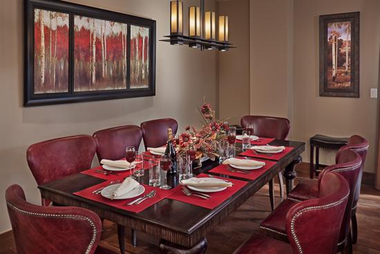 Dining for 8 - One Steamboat Place - Three Forks Mtn #306 - Ski-in/ski-out Luxury - Steamboat Springs - rentals