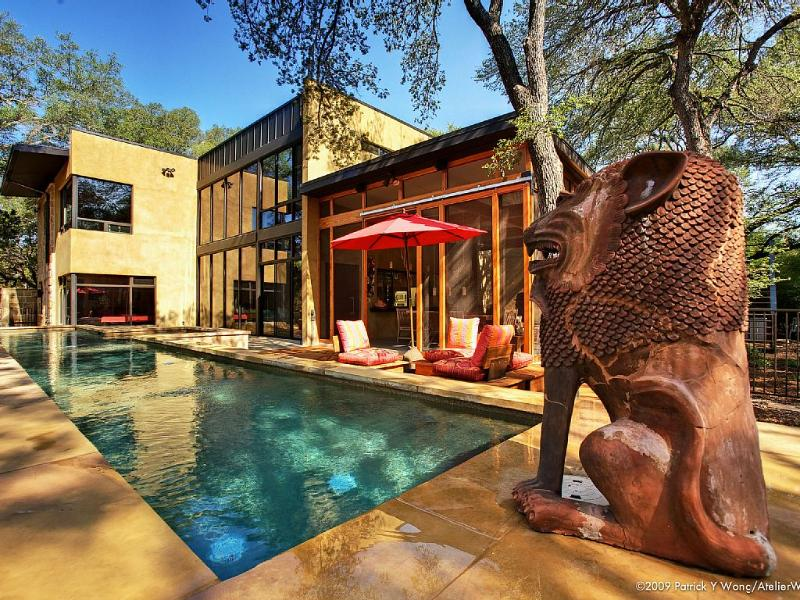Bali Meets Austin In Artist's Spectacular, Private - Image 1 - Austin - rentals