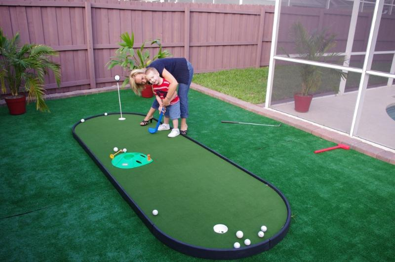 Mini Golf Putting Green!!! - 3/2 Disney Home - Putting Green, Games Room & Pool - Kissimmee - rentals